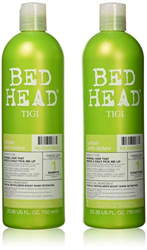 TIGI Bed Head Renergize Shampoo and Conditioner Duo, 25.36 oz