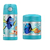 Disney Finding Dory Funtainer Thermos Bottle & Food Jar by Disney