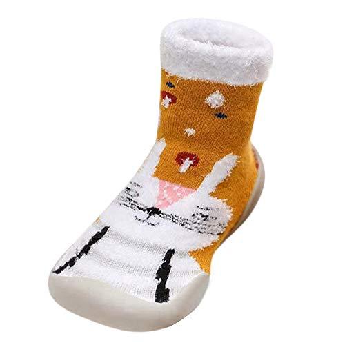 Todaies Baby Infant Toddler Girls Boys Cartoon Christmas Xmas Winter Warm Socks Shoes