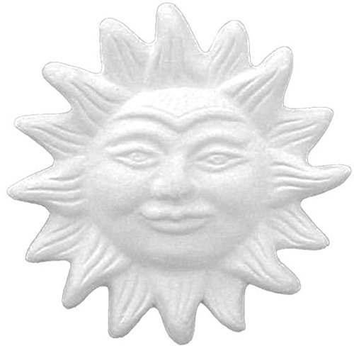 Paint Ceramic Bisque (Radiant Sun Plaque - Paint Your Own Fun In The Sun Ceramic Keepsake)