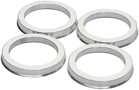 Performance Spigot Hubrings fit 87.1mm Vehicle Hub and 106mm Wheel Center Bore Compatible with Ford F150 Lincoln Set of 4 DCVAMOUS Alloy Aluminum Hub Centric Rings 106 to 87.1