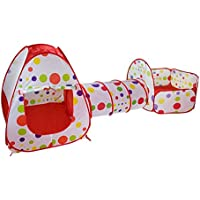 Gaming Toy baby House Toy Tent for Children Foldable Play House Kids Game Tunnel Tent Yard Ocean ball Pool Outdoor tipi…