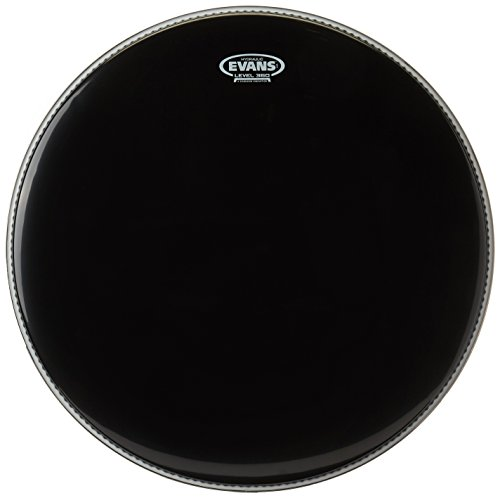 Evans Black Hydraulic Bass Drum Head - 22 Inch Bass Drum Heads 2 Ply