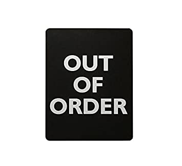 Amazon Com Out Of Order Sign For Bathroom Stalls Home