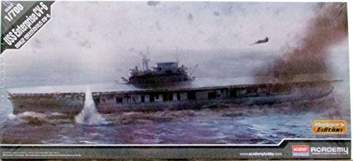 Carrier Model - ACA14224 1:700 Academy USS Enterprise CV-6 [MODEL BUILDING KIT]