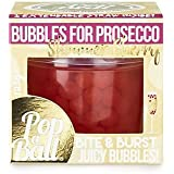 PopaBall Cherry Shimmer Bubbles for Prosecco, Cocktails, Mocktails & More!