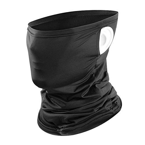 MAXJOY Neck Gaiter Black