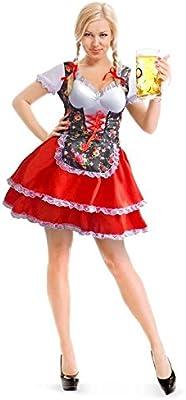 Folat - Disfraz para Mujer Oktoberfest (61461): Amazon.es ...