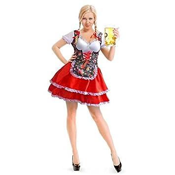 El folato 61462, Traje Oktoberfest Adulto, Vestido de ...