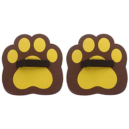 Adjustable Bear Paw Shoes - 1 Pair Sports Toy Shoes for Kids Parents Race Walking Competition;Family Parent-Child Interactive Game