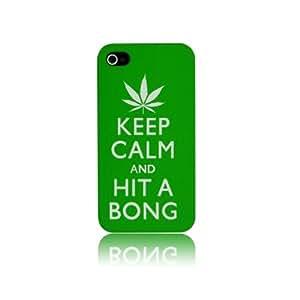 Iphone 5 Keep Calm & Hit A Bong Style Hard Plastic Case