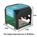 Laser Engraving Machine, 3000mW Mini Desktop