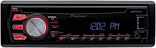 414fMK4KSsL amazon com pioneer deh x1710ub in dash cd mp3 car receiver car Pioneer Deh 16 Wiring-Diagram at bakdesigns.co