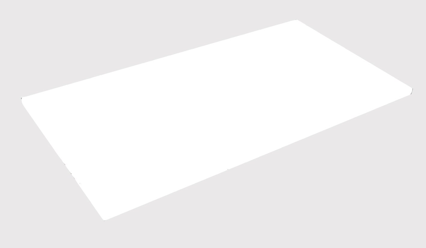 Tambour MFC Shelf for use with Nova or Prism Tambour Units, White