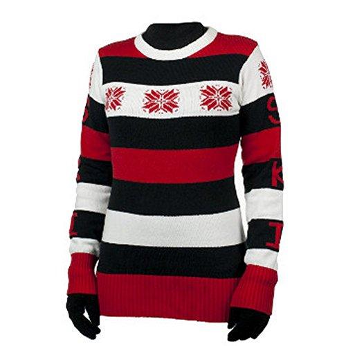 Obermeyer Eskimo Kisses Women's Sweater True Red (Obermeyer Red Sweater)