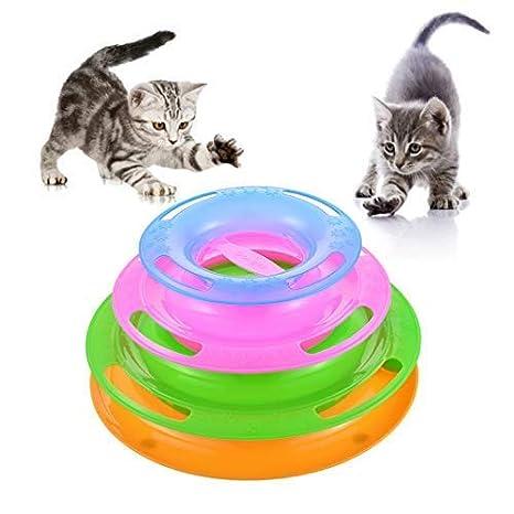 Roblue Drôle Gato Gato Crazy Track con Pelota de Juguete Laberinto ...