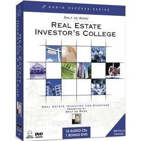 Dolf De Roos' Real Estate Investor's College: Real Estate Investing for Everyone (13 Audio CDs and 1 BONUS DVD) by Topics Entertainment
