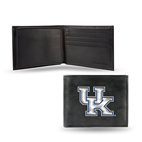 Leather Kentucky Wildcats Embroidered Wallet - 3