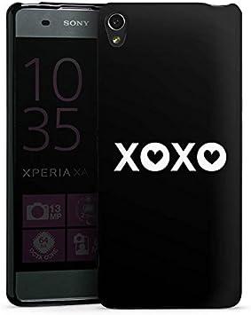 Sony Xperia XA móvil Case Funda Móvil beso XOXO Amor: Amazon.es: Electrónica