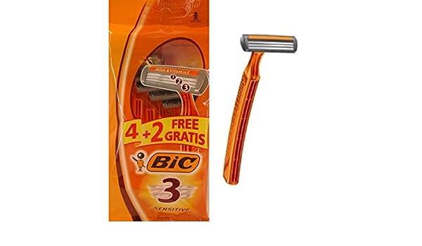 Bic Maq Af 4+2U 3H Sensitive 100 gr: Amazon.es: Salud y cuidado ...
