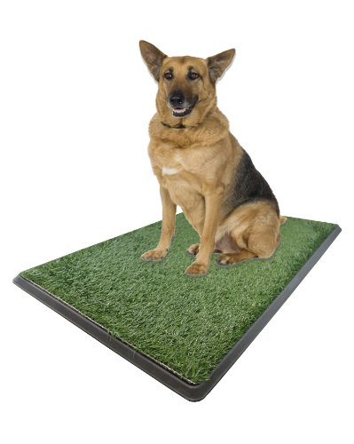 Large Pet Potty Patch - Dog Training Bathroom Pad Indoor Or Outdoor Use 25