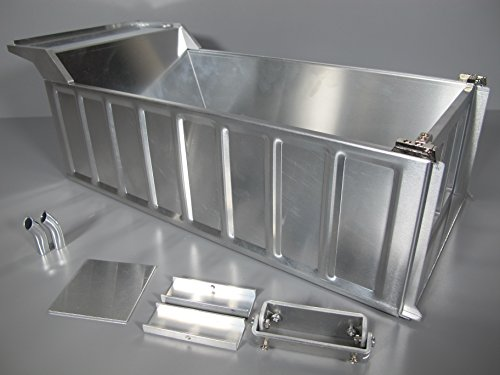 Rctruckfactory Aluminum Dump Bed Conversion Kit for Tamiya 1/14 Semi King Hauler Truck