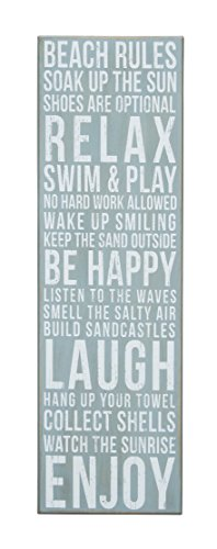 Primitives-by-Kathy-Box-Sign-Beach-Rules-9-by-295-Inch