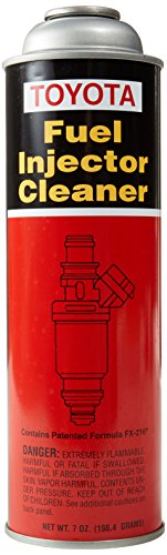(Genuine Toyota 00289-1PF07 Pressurized Fuel Injector Cleaner - 7 oz. Can)