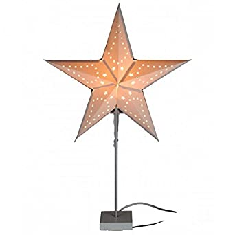 Stern Weihnachten.Dekoleuchte Sternlampe Mit Ständer E14 Stern Dekolampe Stimmungsleuchte Weihnachten Deko