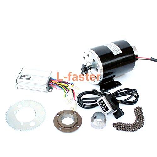 500ワット電動オートバイモーターキット使用25 25hチェーンドライブ高速電動スクーター交換電気ゴーカート変換キット B07BTLN3V6 36V thumb kit 36V thumb kit