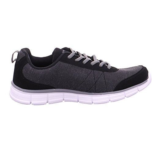 Sneakers Schwarz da run Ref donna Kr acciaio jet Kangaroos grigio nero BqRfTT