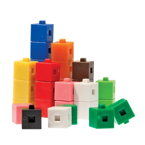 EAI Education Interlocking Centimeter Cubes - Set of - Cubes Centimeter