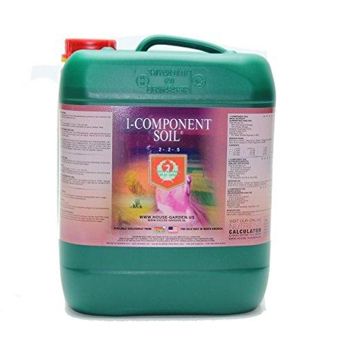 1 Component Soil (House & Garden 1-Component Soil Nutrient - 5 Liter)