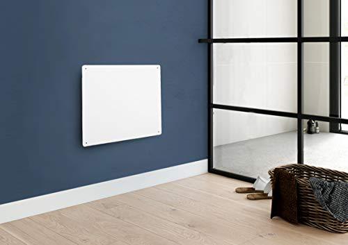 NETTA Wall Mounted Electric Flat Panel Heater - Paintable Slimline, Low...