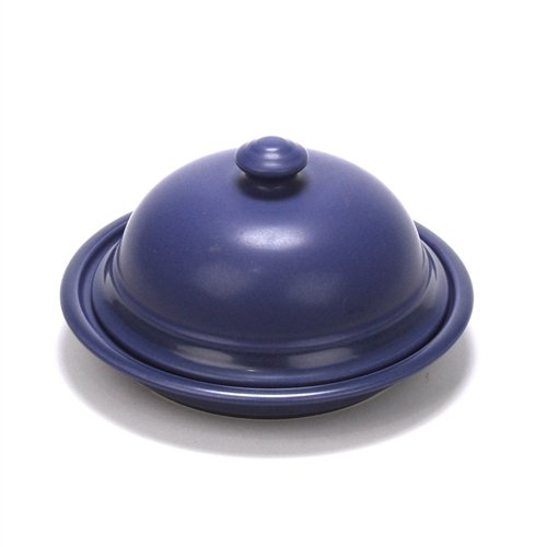 Terrace Blueberry by Pfaltzgraff, Stoneware Butter Dish