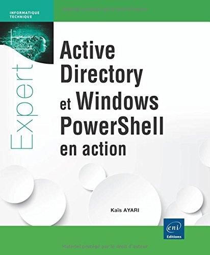 active directory et Windows PowerShell en action ebook