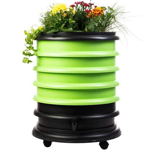 WormBox : Vermicompostador 4 bandejas Anis Verde + Jardinera - 72 ...