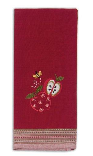 Kay Dee Designs R6190 Apple Season Embroidered Tea Towel