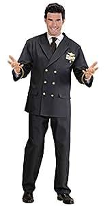 WIDMANN Widman - Disfraz de piloto militar para hombre, talla XL (W5708)