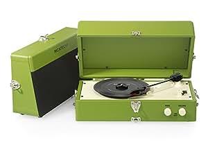 Ricatech RTT80 - Tocadiscos para equipo de audio, verde