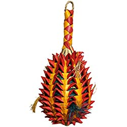 Rosewood Pet 22319 Woven Wonders Foraging Pineapple Large Bird Toy