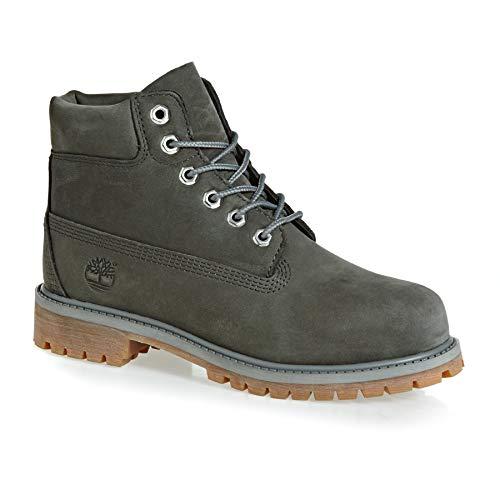 """Timberland Unisex-Child Premium 6"""" Boots Coal Waterbuck"""