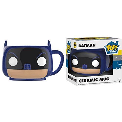 Batman: Funko POP! Home x Batman Mugs + 1 FREE Official DC Trading Card Bundle (21708) -