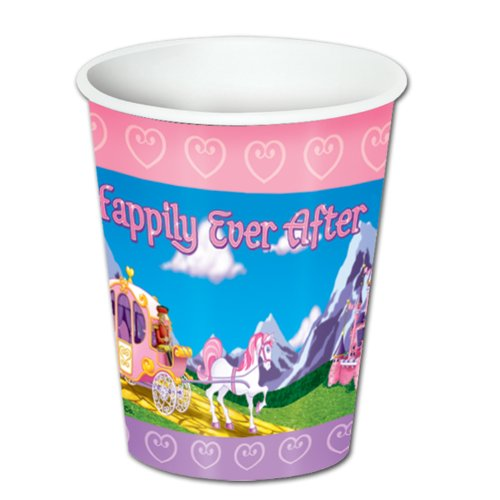 Princess Beverage Cups   (8/Pkg)