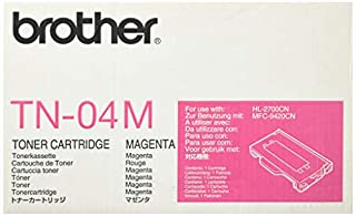 Brother Intl MAGENTA TONER CARTRIDGE ( TN04M ) (B0001GU89G) | Amazon Products