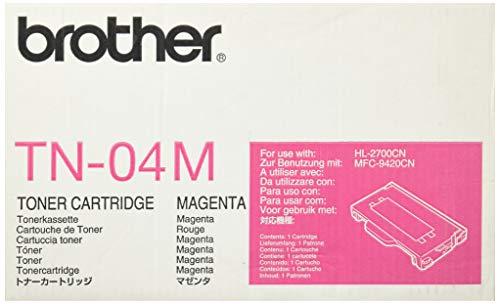 (Brother TN-04M Toner Cartridge, Magenta)