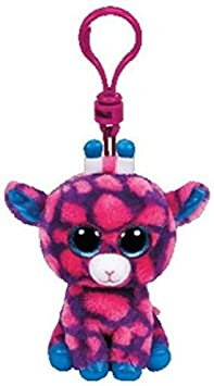 Carletto Ty 36639 – Sky High Clip, Jirafa con Ojos, Glubschi s, Beanie Boo s, 8.5 cm, Color Rosa/Azul: Amazon.es: Juguetes y juegos
