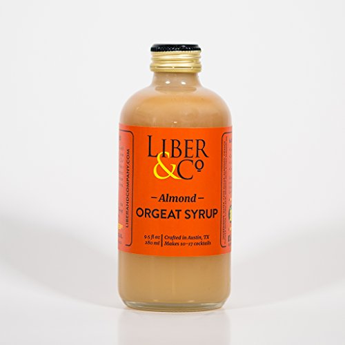 Liber & Co. Almond Orgeat Syrup (9.5 oz)