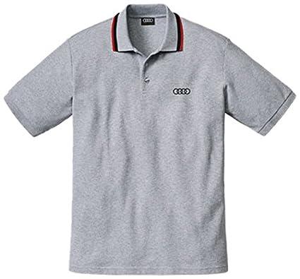 Audi 4131001802 Service CF Polo para Hombre KA, Talla S, Gris ...