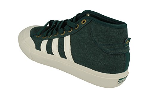 adidas Matchcourt Mid, Scarpe da Ginnastica Uomo, Verde (Vermis/Balcri/Dormet), 42/43 EU